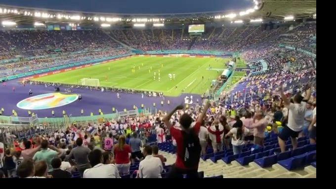 Общество: Англия выигрывает у Украины по итогам первого тайма