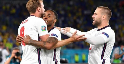 Общество: Евро-2020. Англия обыгрывает Украину после первого тайма благодаря голу Кейна