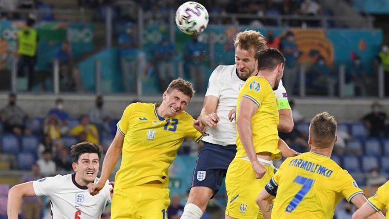 Общество: Сборная Англии забила третий мяч в ворота украинской команды на Евро