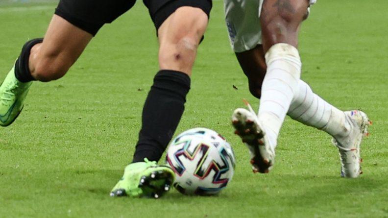 Общество: Англичане забили третий гол в матче чемпионата Европы против Украины