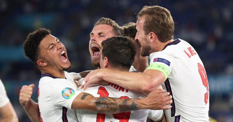 Общество: Украина - Англия: дубль Кейна и голы Магуайра и Хендерсона вывели англичан в 1/2 Евро-2020 (видео голов)