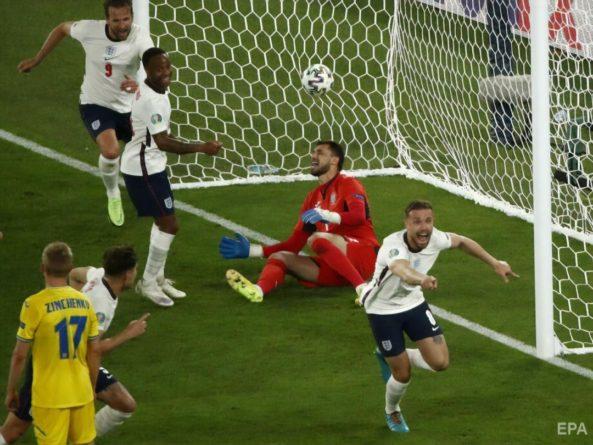 Общество: Англия разгромила сборную Украины в четвертьфинале Евро 2020