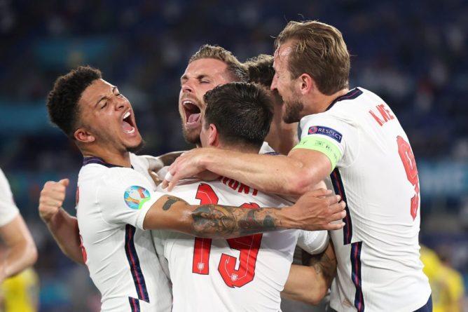 Общество: Англия и Дания вышли в полуфинал Евро-2020