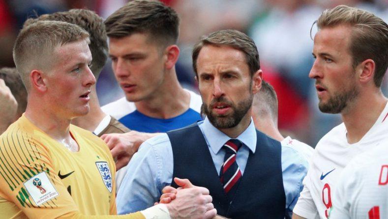 Общество: Тренер сборной Англии заявил, что по ходу матча с Украиной уже думал о следующем сопернике
