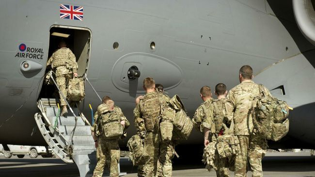 Общество: Минобороны Британии планирует наносить авиаудары в Афганистане после вывода войск