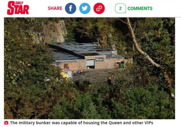 Общество: В Британии показали бункер Елизаветы II на случай ядерного удара