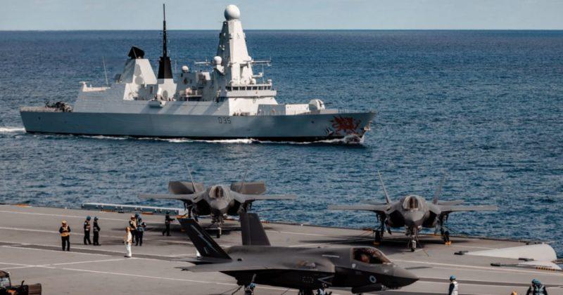 """Общество: """"Для ответа на угрозы"""": ВМС Британии установит на 50% больше ракет на все эсминцы (фото)"""