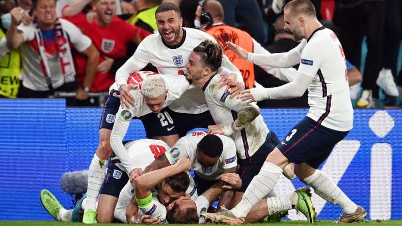 Общество: Сборная Англии в дополнительное время обыграла Данию и вышла в финал Евро