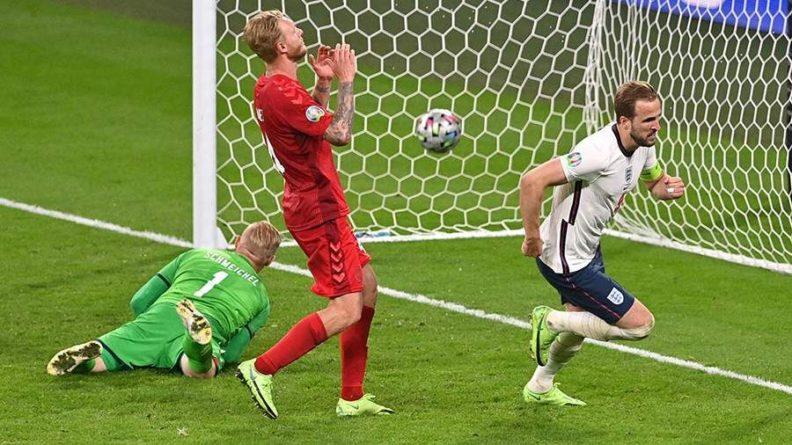 Общество: Сборная Англии обыграла датчан и вышла в финал Евро-2020
