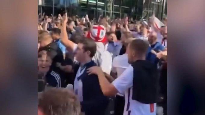 Общество: Англия вышла в финал Евро-2020