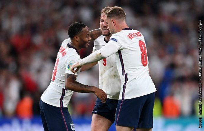 Общество: Сборная Англии победила Данию и впервые вышла в финал Евро