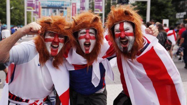 Общество: Сборная Англии станет соперником сборной Италии в финале Евро-2020