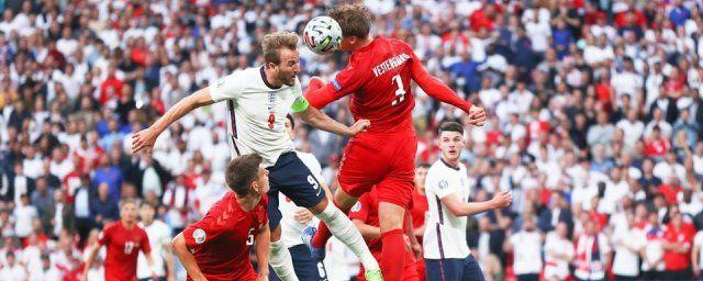 Общество: Сборная Англии выиграла у команды Дании в дополнительное время и вышла в финал Евро-2020