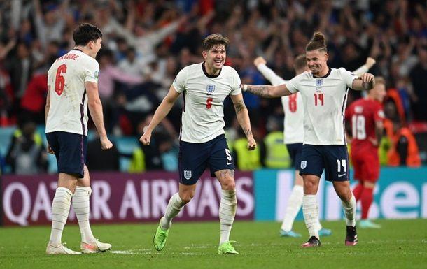 Общество: Англия впервые вышла в финал Евро