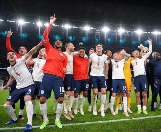 Общество: Англия обыграла Данию и вышла в финал чемпионата Европы по футболу