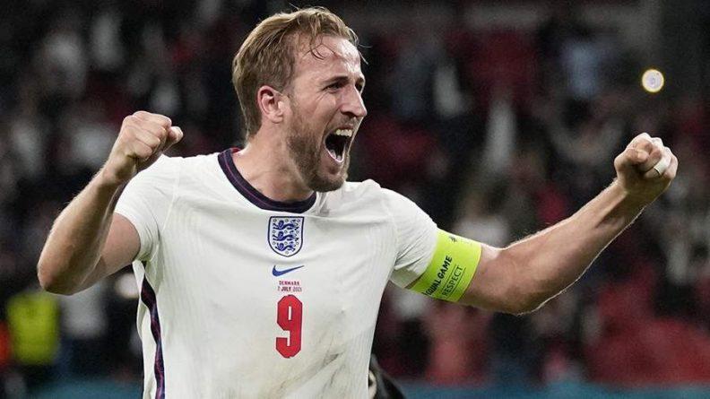 Общество: Кейн признан лучшим игроком матча Англия — Дания на Евро-2020