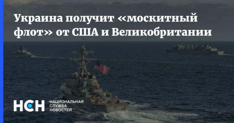 Общество: Украина получит «москитный флот» от США и Великобритании