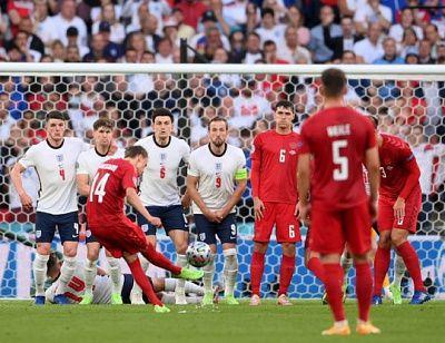 Общество: Англия одолела Данию и вышла в финал Евро-2020