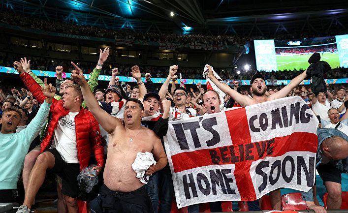 Общество: Daily Mail (Великобритания): англичане в экстазе! Команда в финале Чемпионата Европы по футболу впервые за 55 лет!