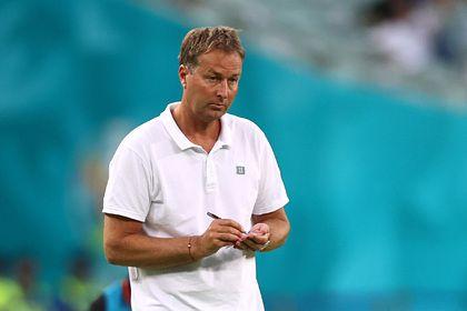 Общество: Тренер сборной Дании после поражения от Англии на Евро раскритиковал судей