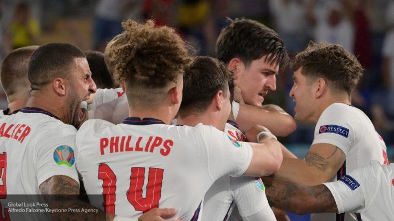 Общество: Фанаты сборной Англии назвали победу своей команды в полуфинале Евро-2020 нечестной