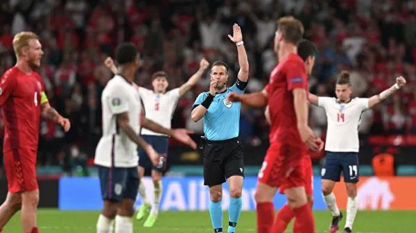 Общество: Сборная Англии впервые в истории вышла в финал чемпионата Европы по футболу