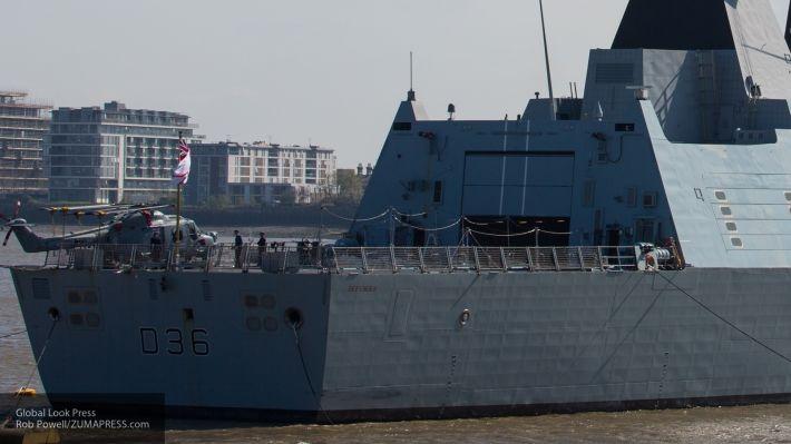 Общество: На Украине назвали инцидент с Defender в Черном море поражением Британии и НАТО