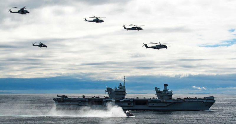 Общество: В Британии обвинили российскую подлодку в слежке за авианосцем
