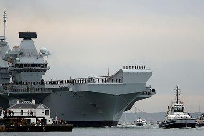 Общество: Великобритания заподозрила Россию в слежке за авианосцем в Средиземноморье