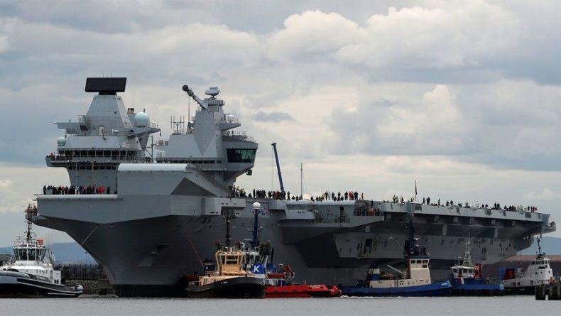 Общество: В Британии заявили , что за их авианосцем следила российская подлодка