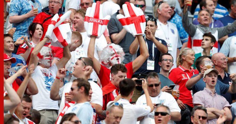Общество: Англию оштрафовали за поведение болельщиков в полуфинале Евро-2020