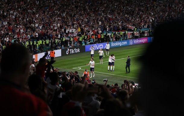 Общество: УЕФА оштрафовал Англию денежным штрафом по итогам матча с Данией
