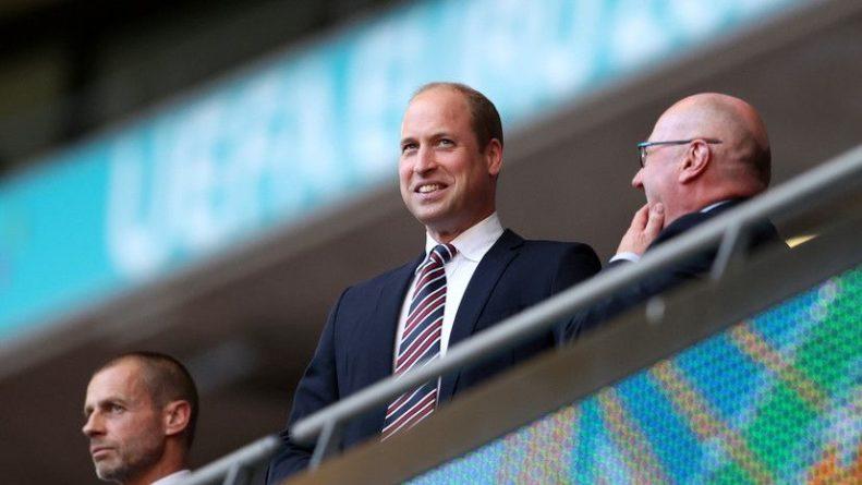 Общество: Принц Уильям обратился к сборной Англии перед финалом Евро-2020