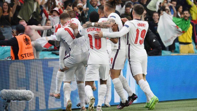 Общество: Англия нанесла один удар в створ за 90 минут финала Евро-2020