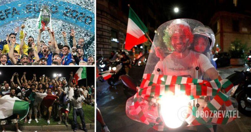 Общество: Италия победила на Евро-2020 – матч со сборной Англии, счет – фото и видео
