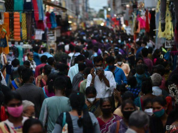 Общество: Индия – первая в мире по числу новых случаев COVID-19, в тройке лидеров – Индонезия и Великобритания