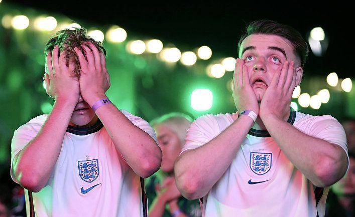 Общество: Англичане о проигрыше своей сборной в финале Евро-2020: Англия проиграла, Европа празднует победу…