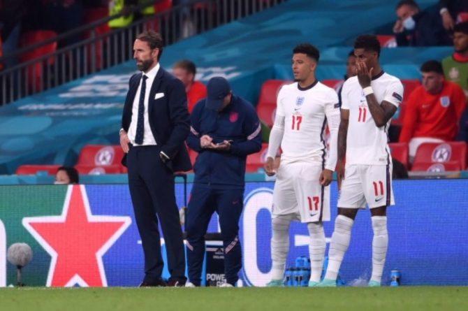 Общество: В Англии осудили расистские высказывания болельщиков в адрес сборной