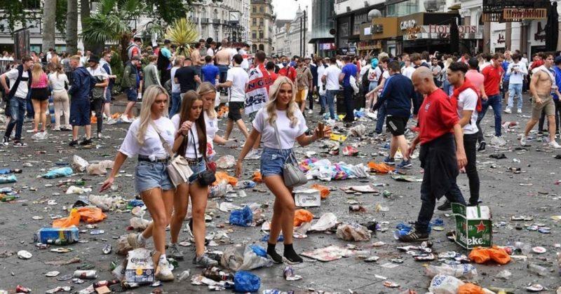 Общество: Убрать Англию с Евро: болельщики англичан возмутили пользователей Сети