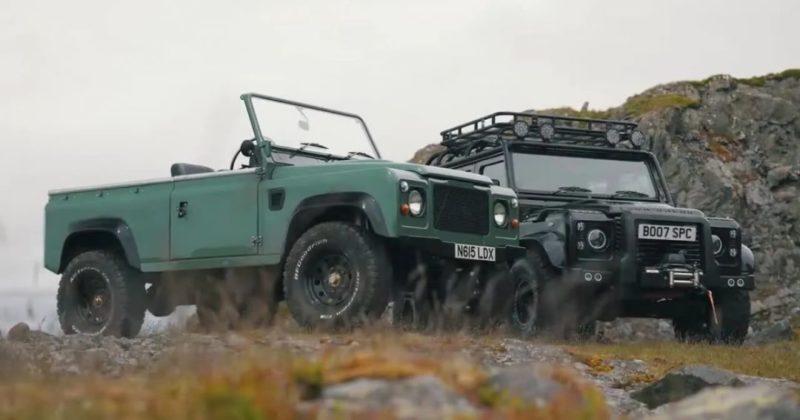 Общество: В Великобритании построили электрические Land Rover Defender на базе Tesla (видео)