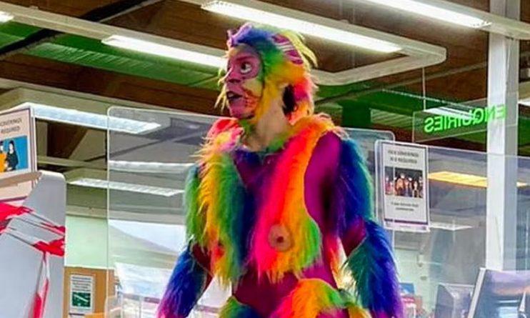 Общество: Радужная обезьяна с пенисом в библиотеке: праздник для детей в Лондоне возмутил весь мир