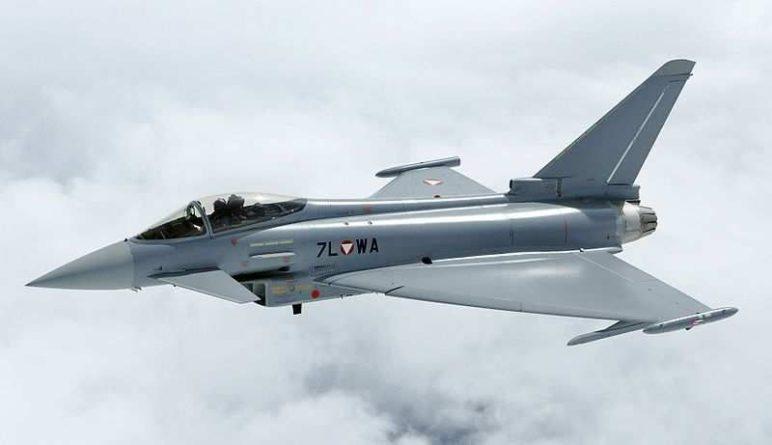 Общество: Истребитель ВВС Великобритании появился на Украине и приблизился к Крыму