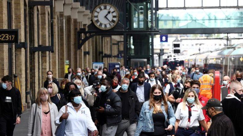 Общество: В Британии за сутки выявили более 48 тысяч случаев коронавируса