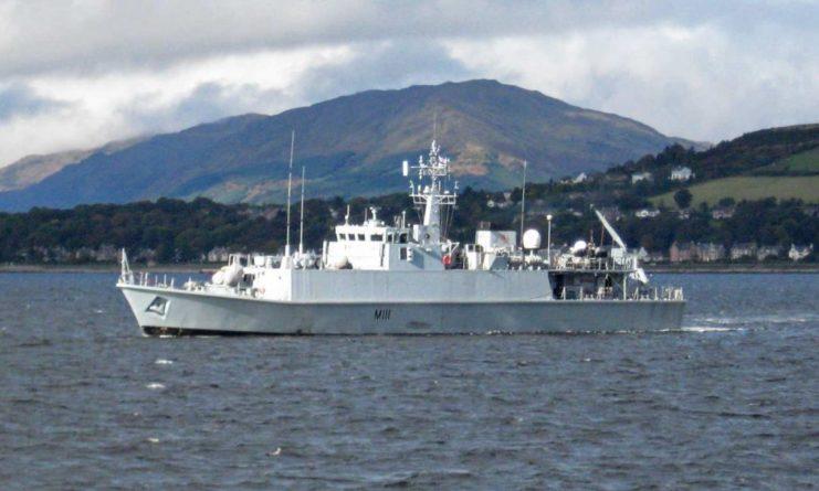 Общество: Королевский флот Великобритании вывел тральщик из своего состава для ВМС Украины