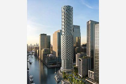Общество: В Лондоне появился небоскреб-цилиндр