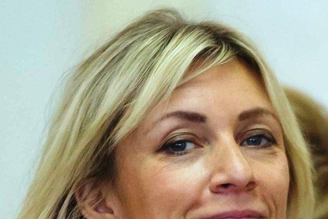 Общество: Захарова отреагировала на портрет Лаврова с нецензурной подписью в Великобритании