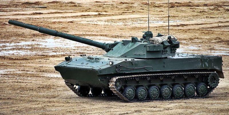 Общество: В Великобритании обеспокоились безопасностью Украины из-за танка РФ «Спрут»