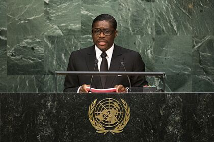 Общество: Гвинея закрыла свое посольство в Британии из-за санкций