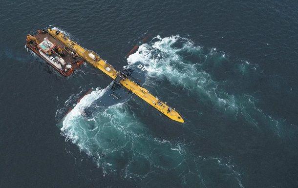 Общество: У берегов Британии запустили самую мощную приливную турбину