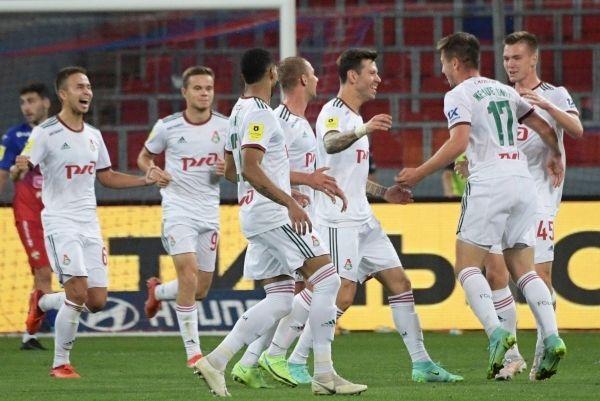 Общество: Футболисты «Локомотива» победили ЦСКА в московском дерби